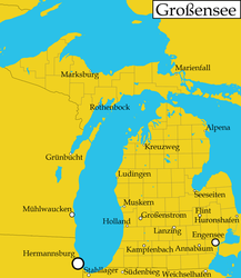 Michigan as illustrated in New Germany by PureTassel