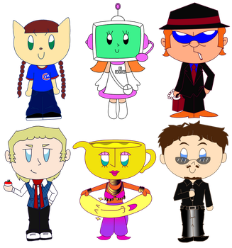 Pop'n Chibi 1 COLORED by LUVKitty13