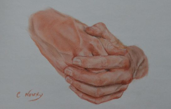 Tom's Hand 15 'Smiling' by Andromaque78
