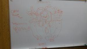 ANOTHER WHITE BOARD OMEGA by vivilong