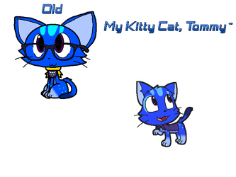 Tommy the cat New Design by Anthony-Zel
