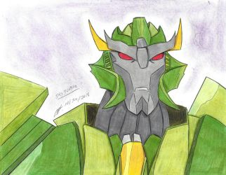 Skyquake transformers prime first drawing by ailgara