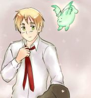 APH England and Mint Bunny by maybebaby83