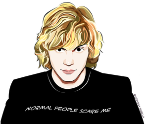 Normal People Scare Me by Arukia