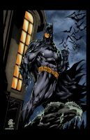 Batman Camilo Colored by likwidlead
