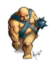 Ogre Guy by suppaduppax