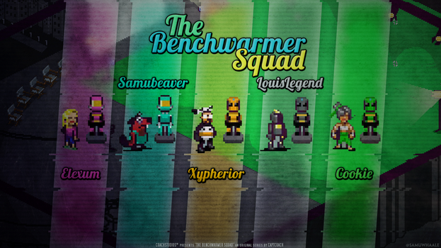 Chroma Squad wallpaper for CaptCoach by Samuwhale