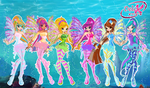 Winx: Delix Sirenix by DragonShinyFlame