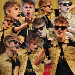 Pack png 09 - Justin Bieber by Abbiy