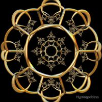 Incendia Golden Alchemy Gate by hypnogoddess