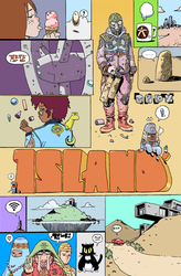 cover for Island #14 by alchemichael77