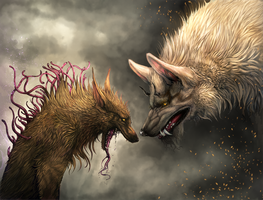 FENRIR and the Barghest by Hallowing