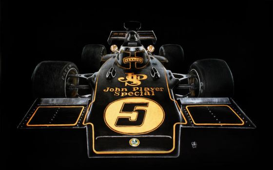 Lotus 72D by GoodieDesign