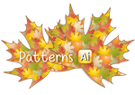 2 Autumn Leaves Illustrator Patterns by flashtuchka