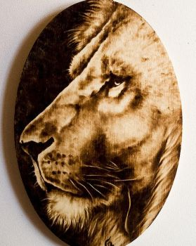 Lion by FuocoRupestre