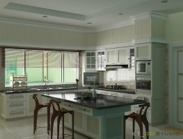 Constbuilt Kitchen by iwan-artwork