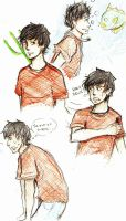 percy doodles by tanjuluZ