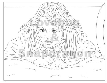entrevista roseanne coloring pages | Colouring Pages by Pi-Zazz on DeviantArt