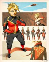 Project Rooftop: Captain Marvel by ysucae