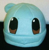 Squirtle Hat by PyrgusMalvae