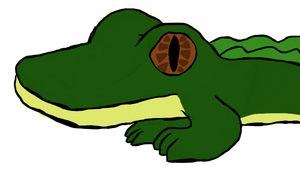 Marcus the Alligator by OreotheCookieKitty