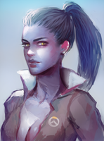 Overwatch: Widowmaker by atutcha