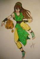 The Greatest EarthBender by venomf