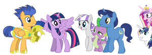 Meeting The Family- Twilight Sparkle by Rebron-y