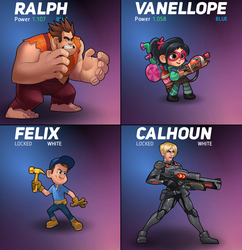Wreck-It Ralph Heroes - Battle Mode by ofihombre