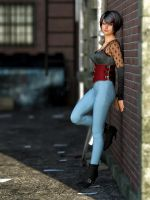 Alley Portrait by Fobok