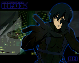 Hei Darker than Black by SpiritOnParole