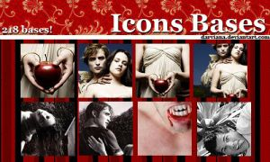 Twilight Icons Bases by darviana