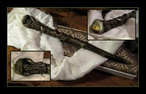Amphisbaena Wand by hever