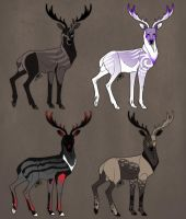 Stag Adopts #3 (1\4 OPEN) by SarcasmBasement