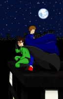 X-Ray and Vav by pixie-blue