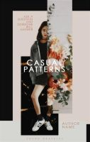 Casual Patterns | Wattpad Cover by miserableyouth