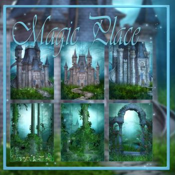 Magic Place backgrounds by moonchild-lj-stock