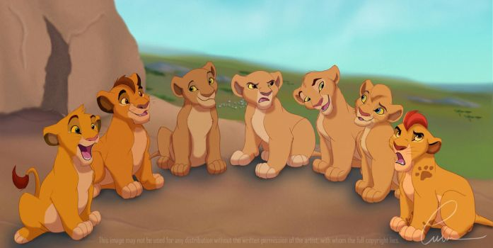 The royal cubs by Takadk