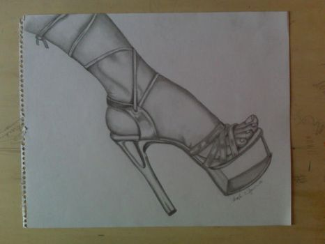 Highheel by midnightgraphx