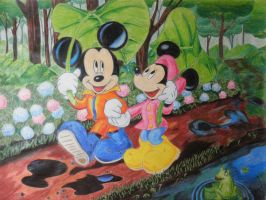 Mickey Mouse by cuky04