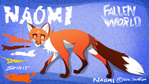 Character Sheet - Naomi (Fallen World) by EpicSaveRoom