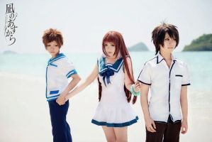 Nagi no Asukara   private -2 by basilicum84