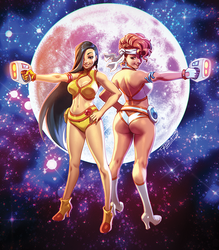 DIRTY PAIR by Robaato