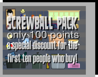 Screwball Pack - 100 PTS Only {Special Discount} by puehrille