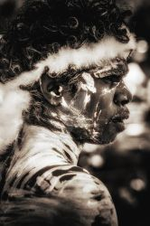 Aboriginal from Australia by vincepontarelli