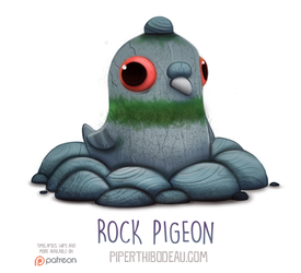 Daily Paint 1554. Rock Pigeon by Cryptid-Creations