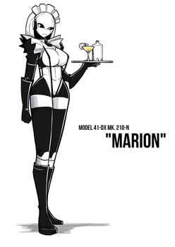 Marion the Robot Maid by BlackboltLonewolf