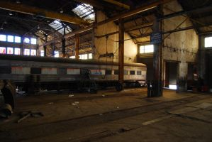 Train's Resting Place by misfitoy