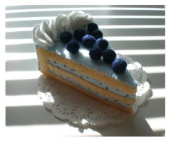 Commission: Blueberry Cake by naruchama
