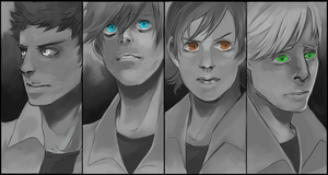 Silent Hill characters by V-rus28